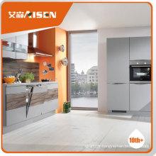 Cabinet de cuisine minimaliste à la fabrication professionnelle