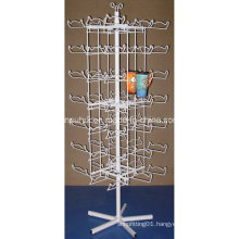 Floor Standing Metal Mug Display Rack (pH15-033)