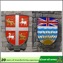 Custom Design Shield Shape Metal Emblem