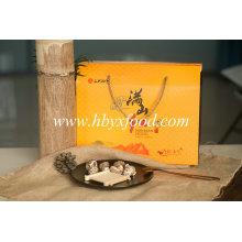 Vegetal secado cogumelo da flor do chá com embalagem agradável