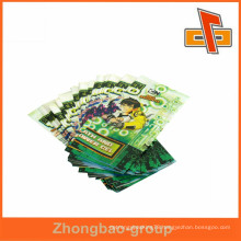 Waterproof shrink wrap sleeve clear custom labels printing for plastic bottles packing made in guangzhou
