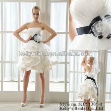 Vestido corto atractivo de la dama de honor del vestido de boda