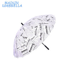 De Bonne Qualité Parapluies 16 de parapluie 16 d'ouverture droite automatique automatique de journal japonais de mode avec la poignée de mousse pour le paysage de promotion