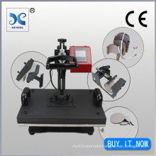 CE Approved Best Multipurpose Combo Heat Press Machine 7in1-2