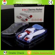 2015 máquina de belleza perfecta 300 agujas de grado médico rodillo derma