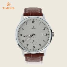 Impermeável Moda Business Couro Strap Relógio De Quartzo Simples 72382