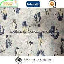 2016 Fashion 100% Polyester Druckfutter mit hoher Qualität