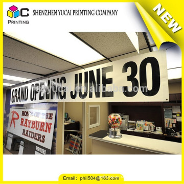 Factory price PVC printing laminated grey back outdoor banner and sports outdoor banner