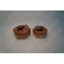 Disc flower Pentagon gift box