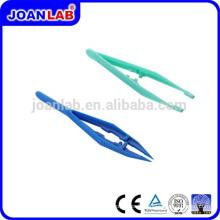 JOAN Lab color plastic tweezer pour usage en laboratoire