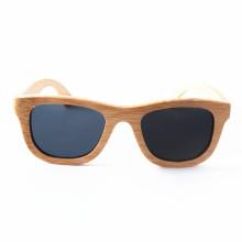 óculos de sol de bambu polarizados