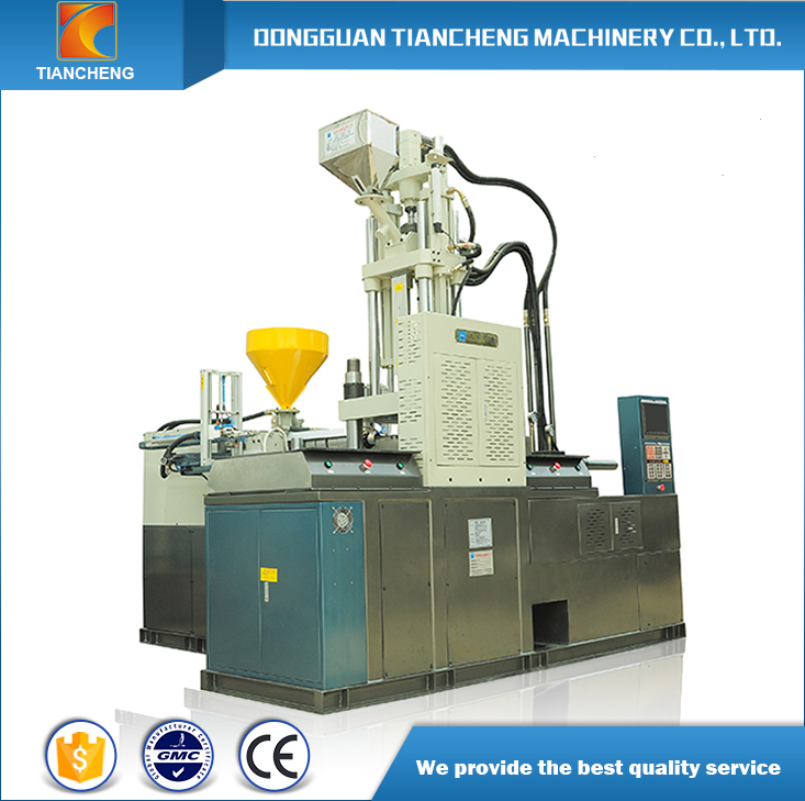 Vertical Double Color Injection Molding Machine
