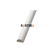 Canal de cabo de alumínio branco entalhado Pvc de alta qualidade