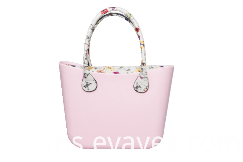 retail pink candy color young lady travel handbags