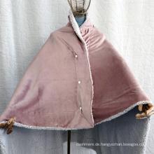 Schaldecke aus Hauswolle