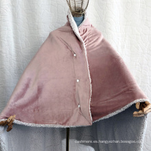 Manta chal de lana de la casa