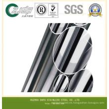 Tubo sin costuras de acero inoxidable AISI 304