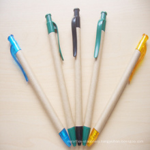 2015 Top Grade Paper Ball Pen with Clip (XL-11508)