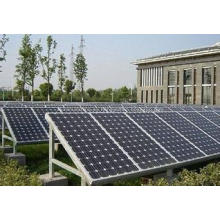 Energía Solar Panel montaje Strcture marco de aluminio
