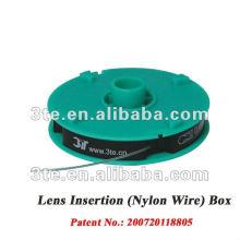 Caja de alambre de nylon para marcos semirretratos Marcos de anteojos