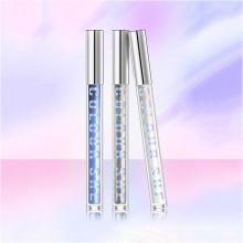 Hot Selling OEM Crystal Color Waterproof Glitter Mascara Long Curly Non-smoothing Fairy Tears Eye Makeup Mascara