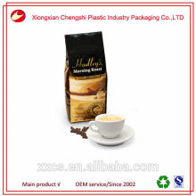 Aluminum foil plastic laminated coffee packaging bag for coffee bean and tea