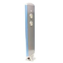 Réverbère solaire imperméable de panneau solaire réglable de LED