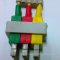 Philips 3-Lead Wires Snap (AHA/IEC)