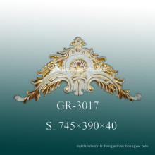 Accessoires décoratifs en murs de polyuréthane de luxe