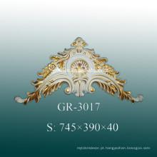 Acessórios Decorativos de Parede de Poliuretano de Luxo