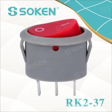 Rk2-37A Oval Rocker Switch
