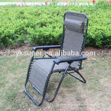 Excelente qualidade direta Zero Gravity Folding cadeira reclinável