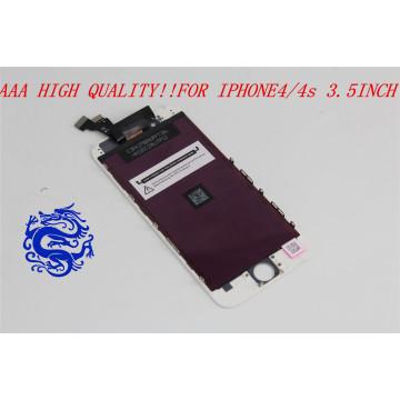 Mais populares feitos no painel LCD das peças sobresselentes do telefone móvel de China para o iPhone 4S