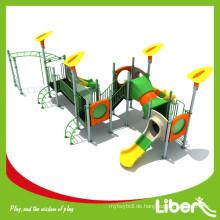 Plastikmaterial Verwendetes Wohn-Spielplatz-Ausrüstung für Verkauf mit im Freien Spielplatz Parallele Stäbe