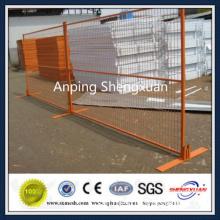 PVC powder coated temporary fence