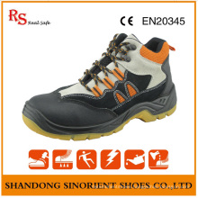 PU Injection Safety Shoes Brand Name Safety Shoes for Men