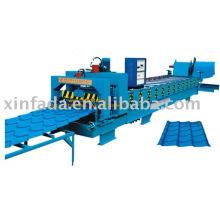 800 arc bias glazed tile roll forming machine