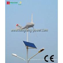 éolienne et solaire hybride système rue LED lumière 56w