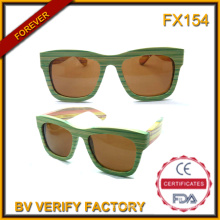 Alta qualidade bambu e madeira, óculos de sol