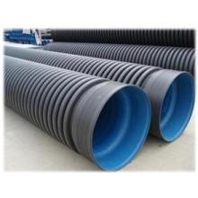 Smooth-Texture HDPE Doppelwandiges Wellrohr für Wasserversorgung mit längerer Lebensdauer