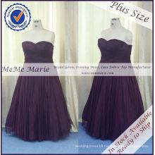 Dark Purple Party Dress in Size 26 Plus Size Prom Dress BYE-14061
