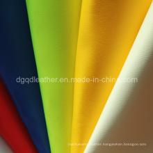 Fashion Design Semi-PU Shoes Leather (QDL-SSL001)