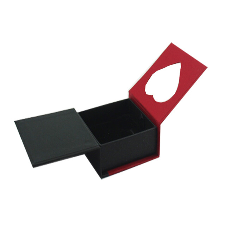 Attractive Packaging Storage Ring Jewelry Paper Box