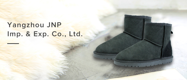 Classic Women Mid-Calf Fashion Winter Booties Pull on