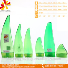 Verde y transparente Aloe vera forma botella para mascotas