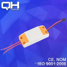 LED Driver plástico amarelo 85-260v alta qualidade