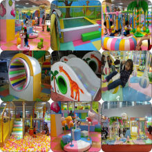 Novo Estilo Elétrico Indoor Playground Equipamento