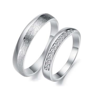 Платиновые свадебные кольца наборы,соответствующие пары кольца для помолвки