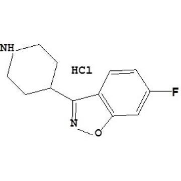 Hidrocloruro de 6 - fluoro - 3- (4 - piperidinil) - 1, 2 - benzisoxazol