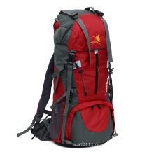 Hohe Qualität 70L wasserdichte Nylon Outdoor Camping Rucksack Tasche (YKY7299)